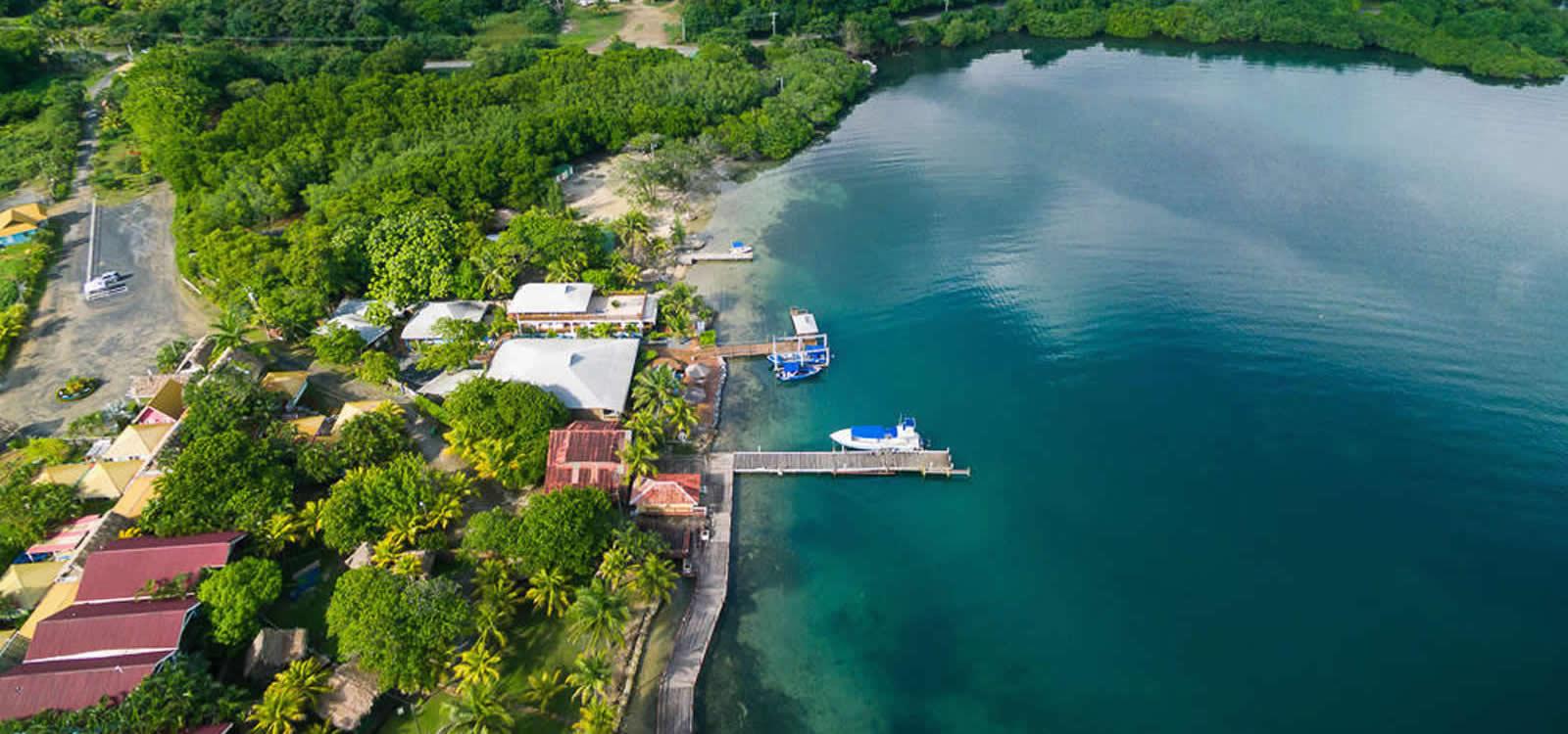 Dive resort for sale dixon cove roatan 7th heaven for Roatan dive resort
