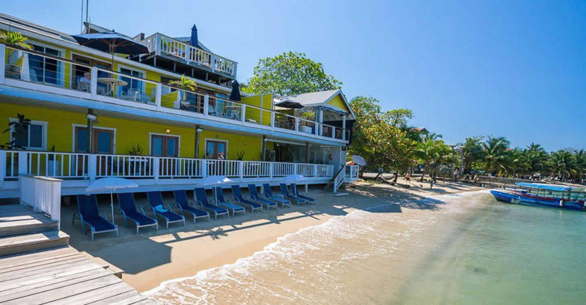 Beachfront Hotel For West End Roatan