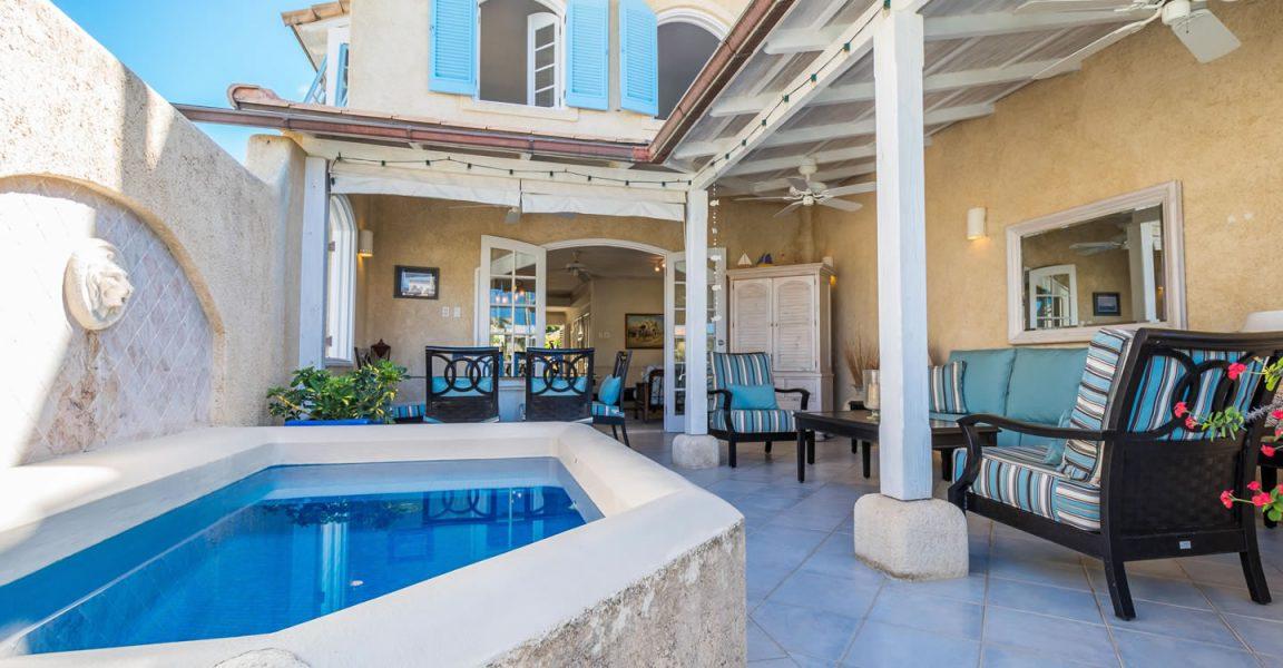 3 bedroom lagoon-front villas for sale  heywoods beach  st peter  barbados