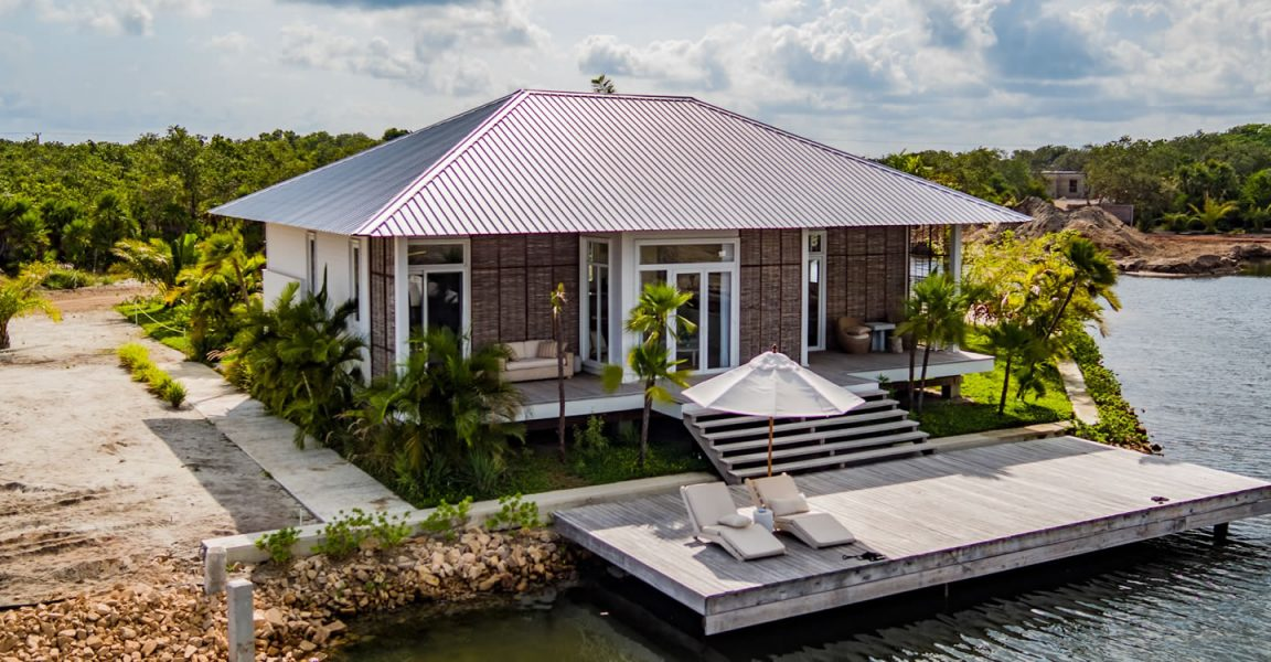 2 Bedroom Luxury Lagoon Cottage for Sale, Placencia, Belize