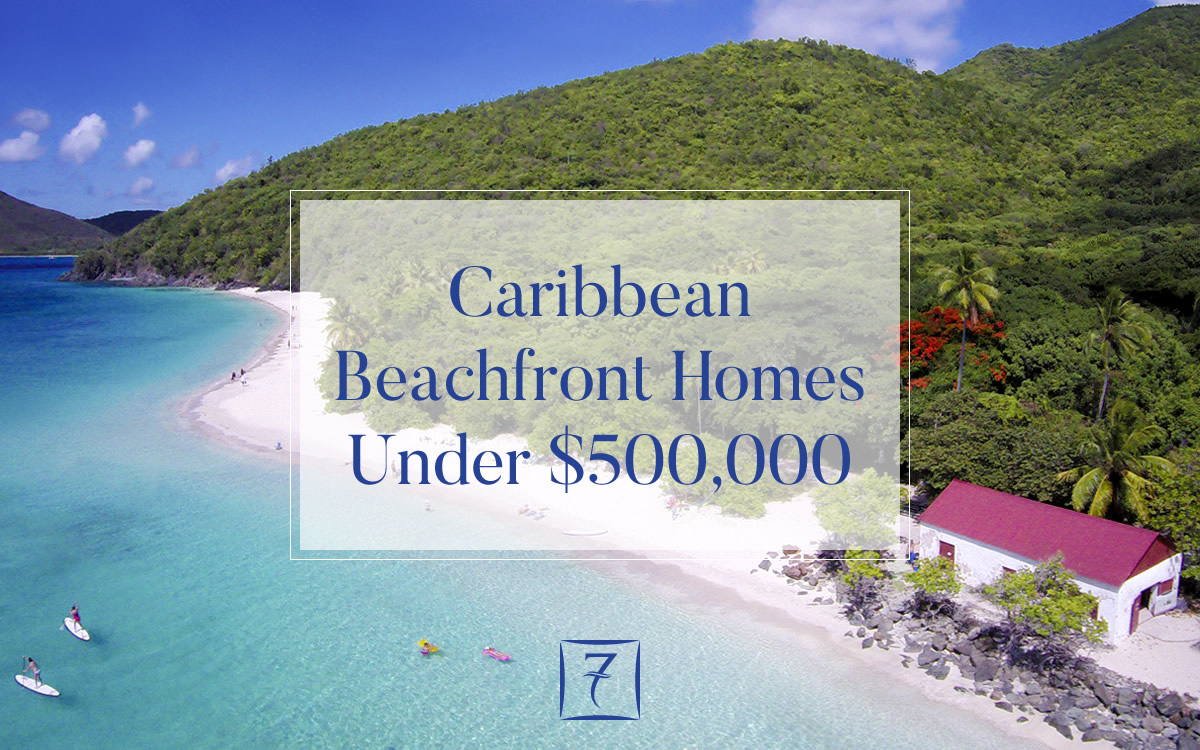 Caribbean beachfront homes for sale under US $500,000