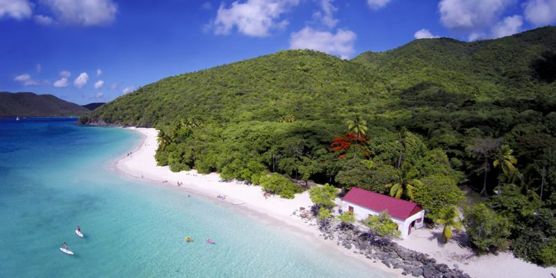 Cinnamon Bay in St John, US Virgin Islands