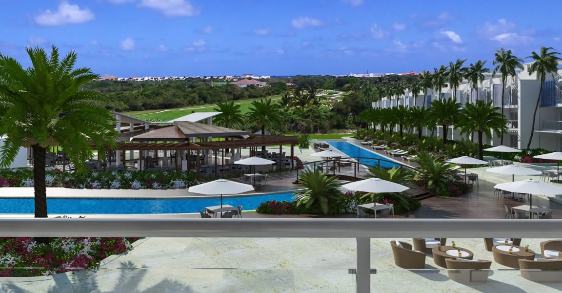 2 bedroom golf course view condos for sale in punta cana for Homes for sale dominican republic punta cana