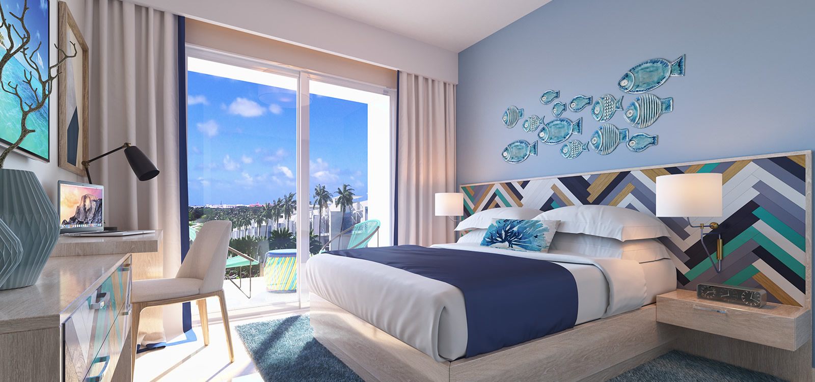 Condos For Sale At Hard Rock Golf Club At Cana Bay In Punta Cana Dominican Republic Bedroom