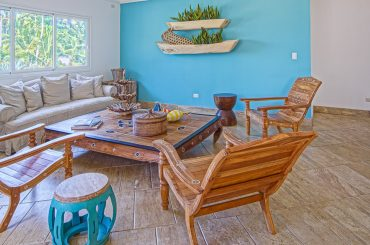 Apartment for sale in Terrazas del Atlantico, Las Terrenas, Samana, Dominican Republic - living room