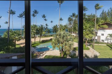 Apartment for sale in Terrazas del Atlantico, Las Terrenas, Samana, Dominican Republic - pool and view