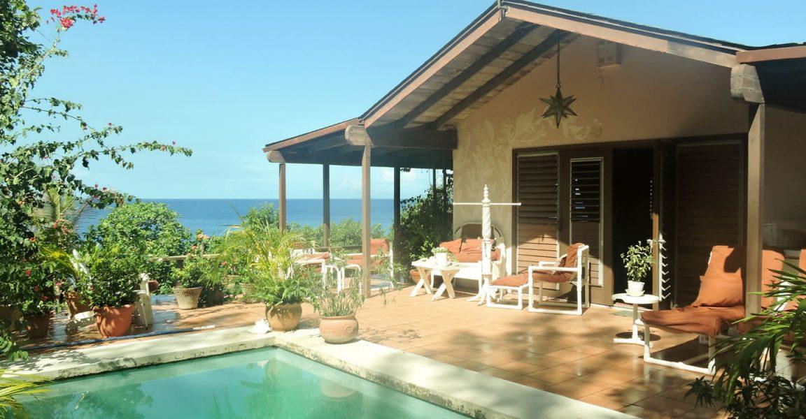 4 Bedroom Beachfront Home For Sale Woodlands Beach Montserrat 7th Heaven Properties