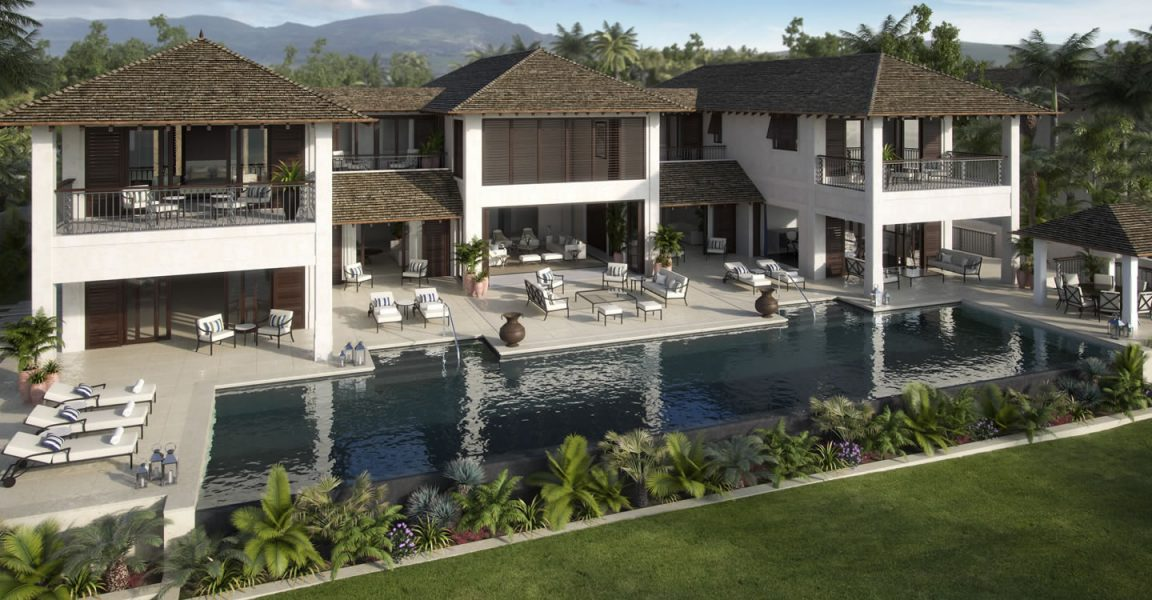 6 bedroom ultra luxury beachfront villas for sale for Luxury beachfront property for sale