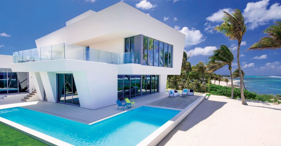 4 bedroom ultra contemporary beach house for sale rum for Ultra modern houses for sale