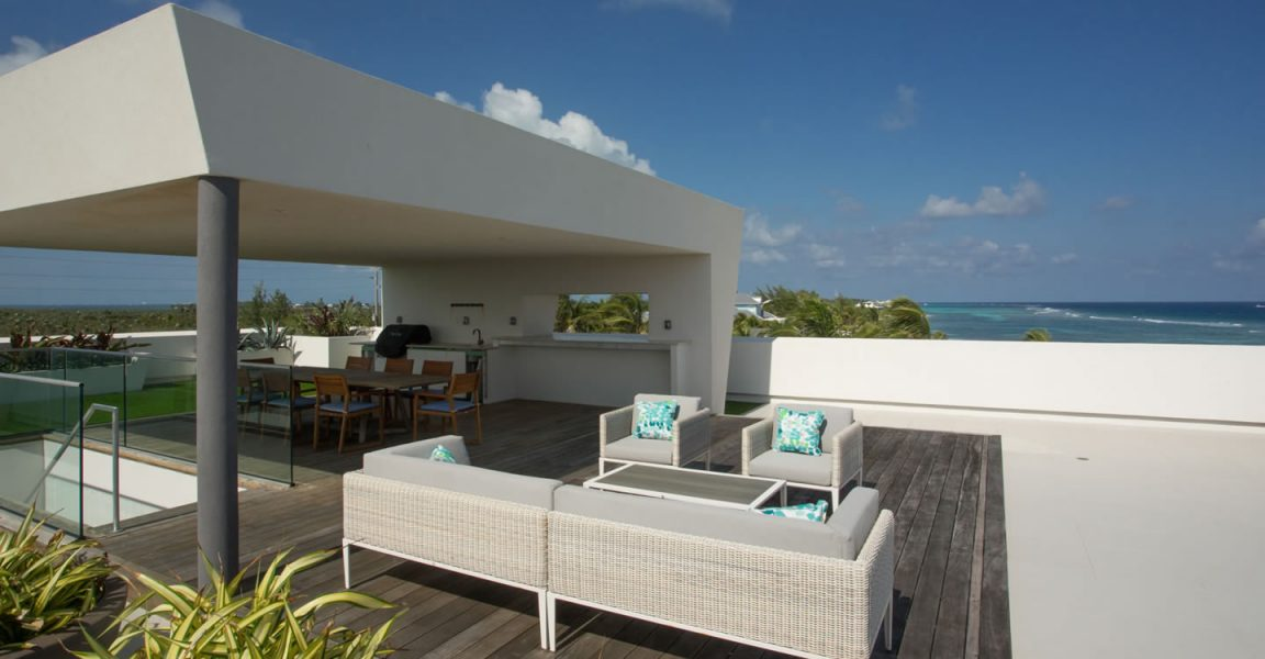 4 bedroom ultra contemporary beach house for sale rum for Ultra modern homes for sale