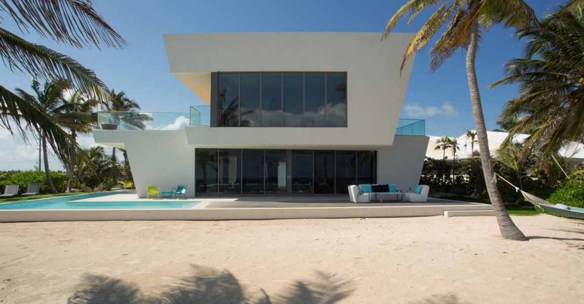 4 Bedroom Ultra Contemporary Beach House For Rum Point Grand Cayman Islands