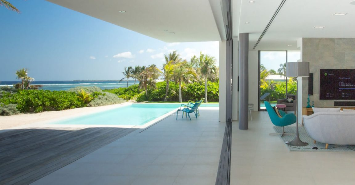 Bedroom Ultra Contemporary Beach House For Sale Rum Point Grand