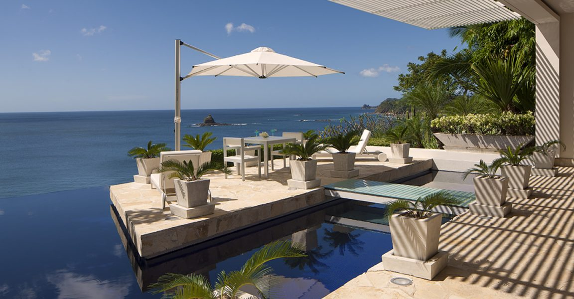 6 bedroom luxury beachfront home for sale near san juan for Luxury beachfront property for sale
