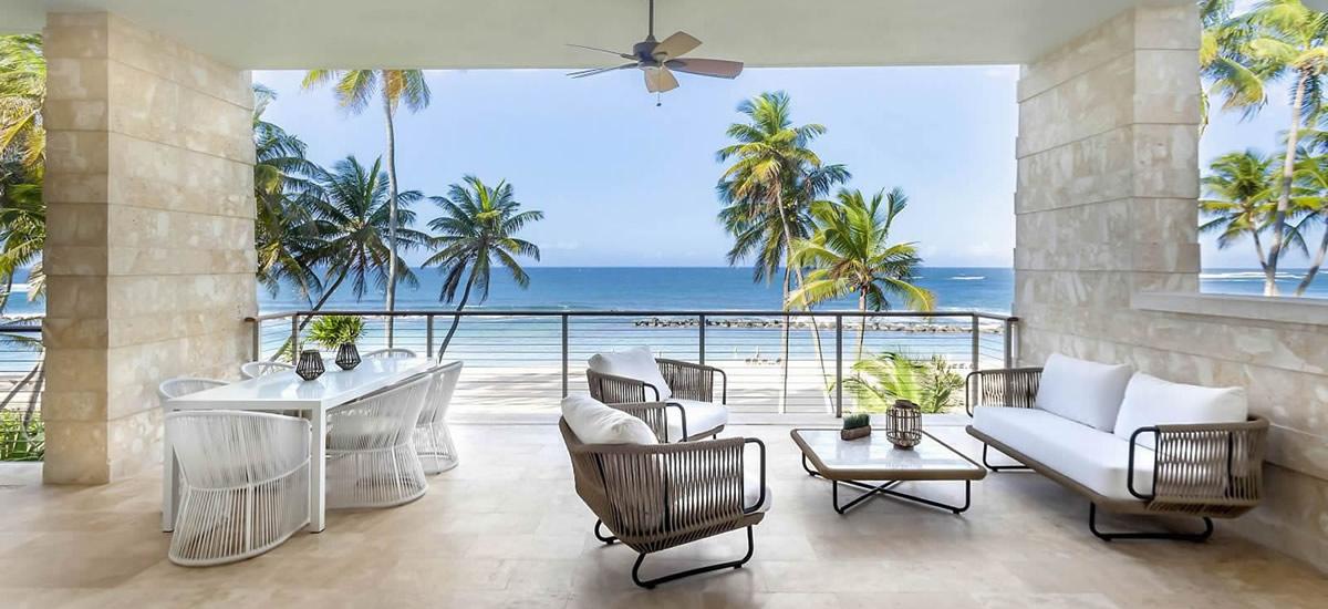 Puerto Rico, Dorado Beach - Beachfront condos for sale