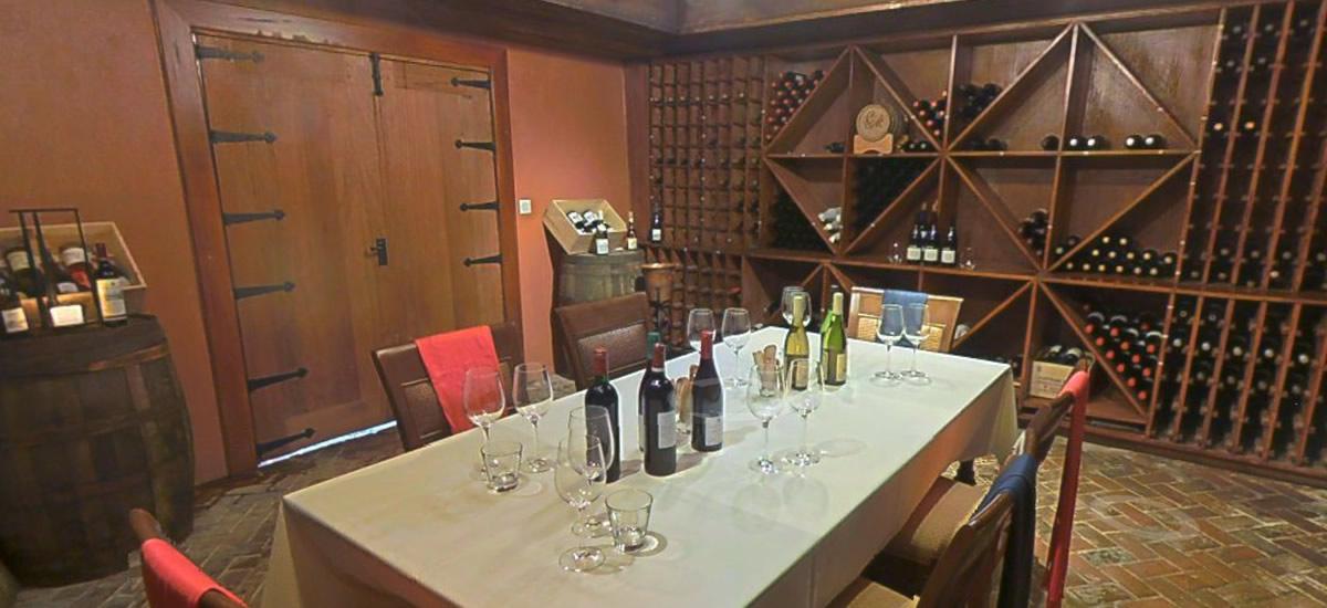 St Lucia, Cap Maison - Wine Cellar