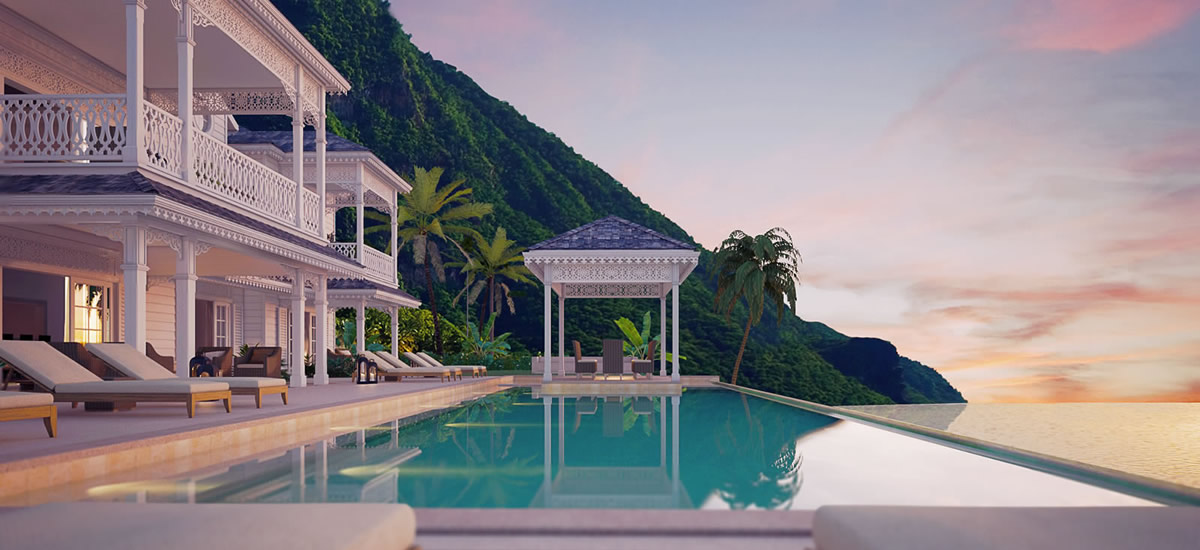Luxury caribbean homes fit for a prince 7th heaven for Luxury beachfront property for sale