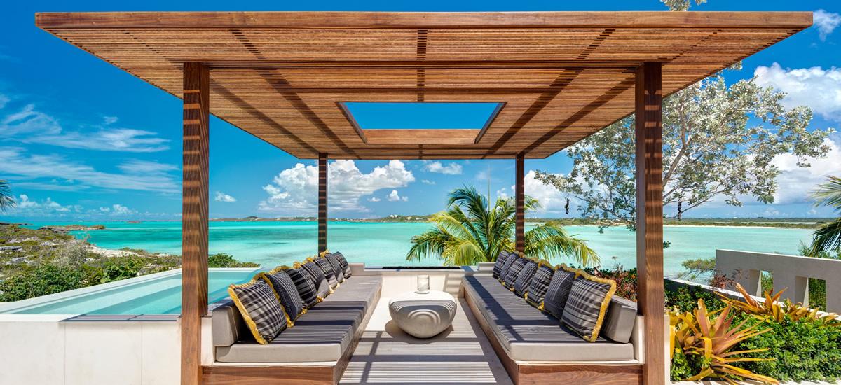 Turks & Caicos, Providenciales - Ultra-Luxury Beachfront Property for Sale - Gazebo