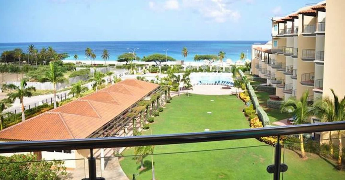 1 bedroom sea view condo for sale eagle beach aruba for 1 bedroom condo for sale