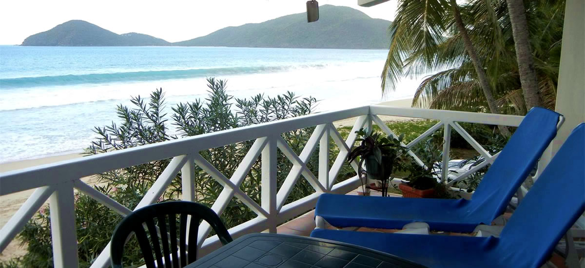 BVI - Affordable beachfront condo for sale at Lambert Beach