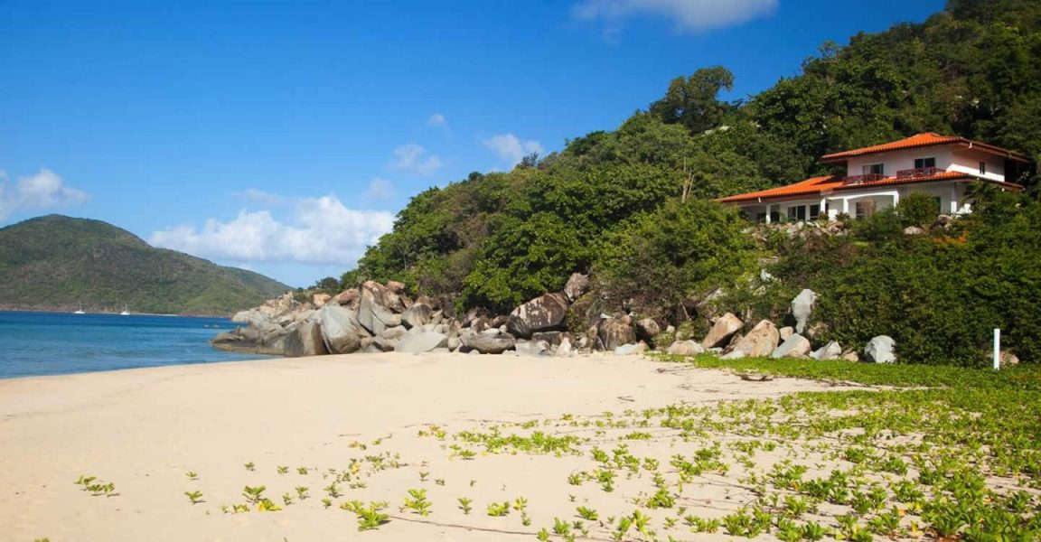 4 Bedroom Beachfront Property For Lambert Beach Tortola Bvi 7th Heaven Properties