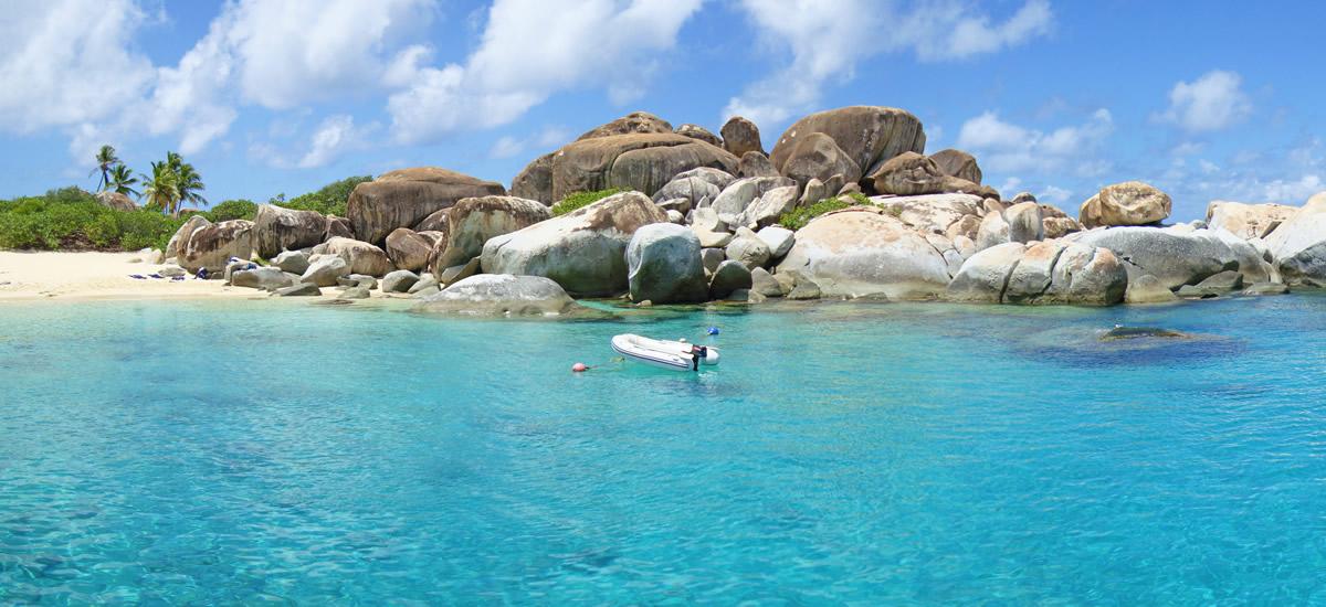 The Baths on Virgin Gorda in the BVI (British Virgin Islands)