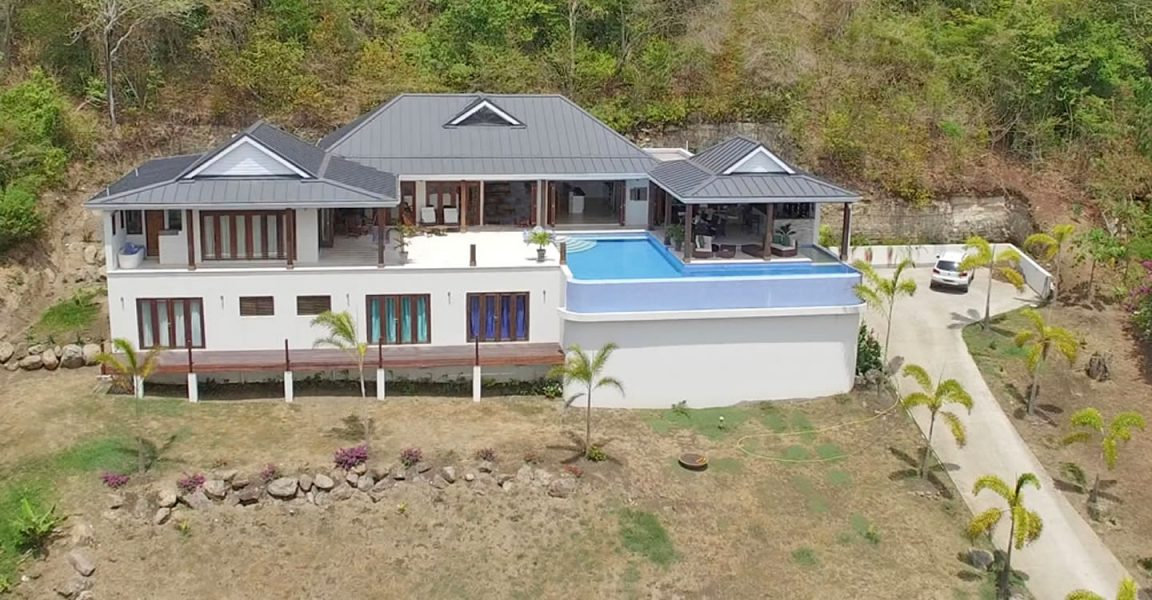 4 Bedroom Beachfront Villa For Sale Westerhall Point