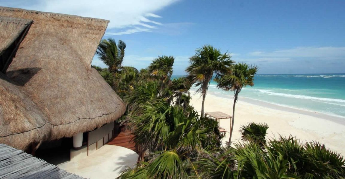 Phenomenal 4 Bedroom Luxury Beachfront Home For Sale Sian Kaan Interior Design Ideas Gentotthenellocom