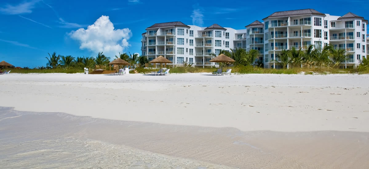 Turks & Caicos - Affordable beachfront apartments for sale on Grace Bay Beach
