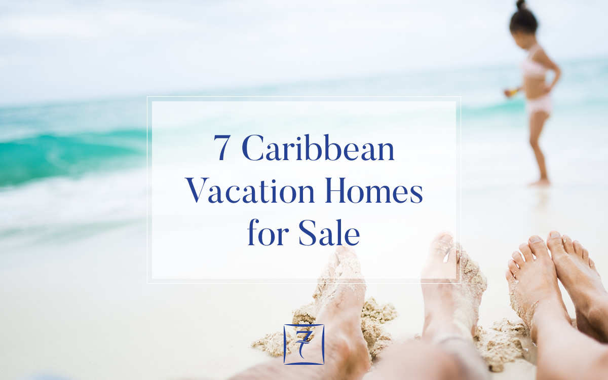 7 Caribbean vacation homes for sale