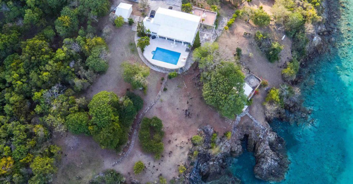 Great Camanoe >> 3 Bedroom Waterfront Property for Sale, Great Camanoe, BVI - 7th Heaven Properties