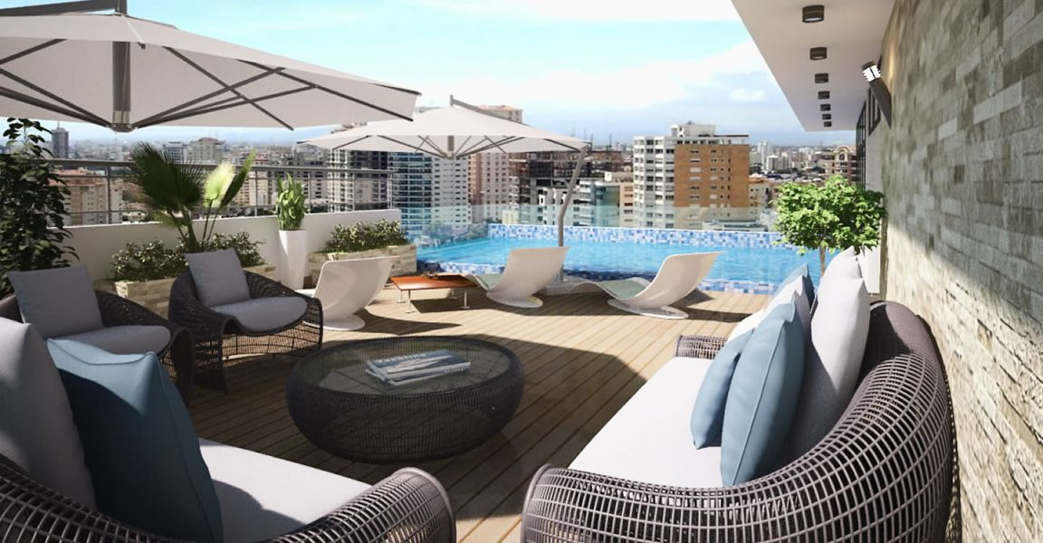 2 Bedroom Serviced Apartments For Sale In Santo Domingo