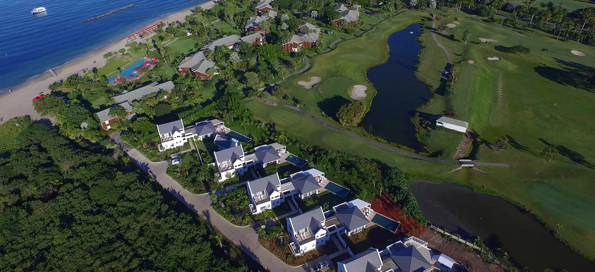 Homes for sale in Nevis bordering one of the Caribbean's best golf courses