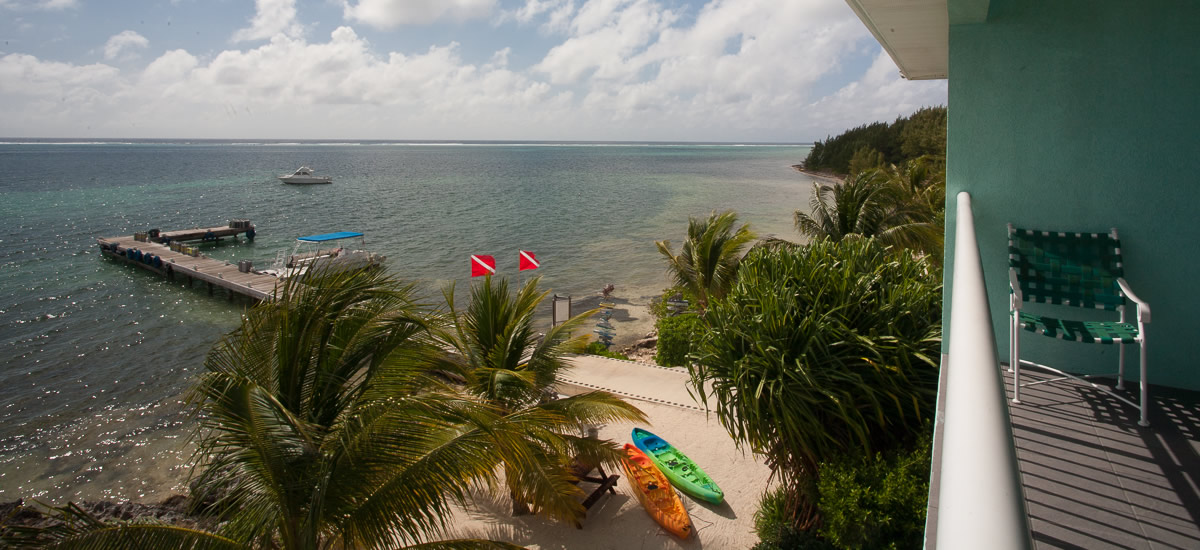 Condo for sale in a dedicated dive resort on Grand Cayman