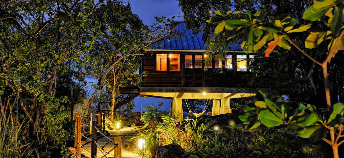 Luxury eco villas for sale in  Dominica for the ultimate vacation retreat in the rainforest
