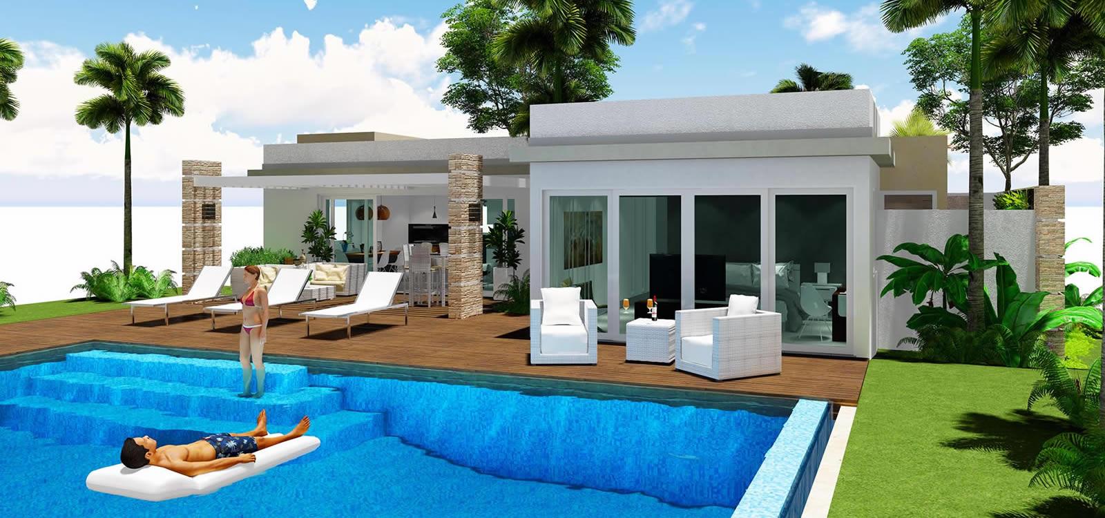 2 Bedroom Villas For In Beach Resort Bayahibe Dominican Republic 7th Heaven Properties