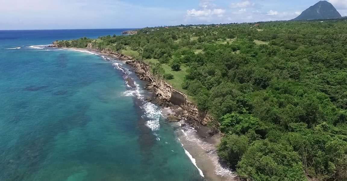 110 Acres Of Beachfront Land For Sale Laborie St Lucia