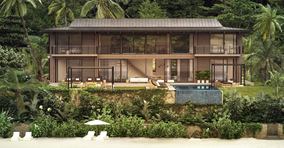 4 Bedroom Ultra Luxury Beachfront Residence For Sale, Val Des Pitons, St  Lucia