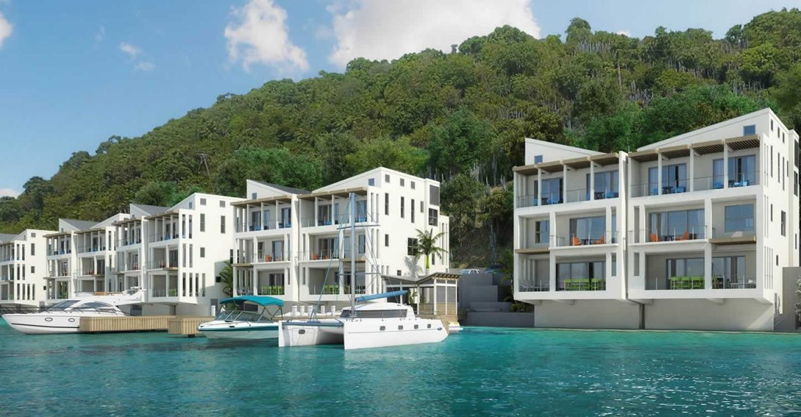3 Bedroom Oceanfront Condos For Sale Brandywine Bay Tortola Bvi 7th Heaven Properties