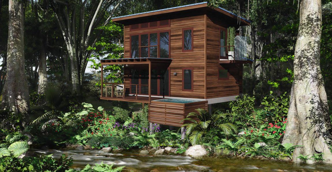 1 Bedroom Riverside Homes For Sale In Portsmouth, Dominica