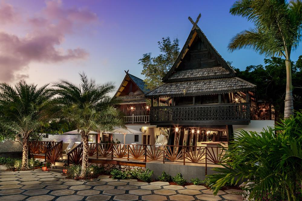 The spa at Zemi Beach House, Anguilla