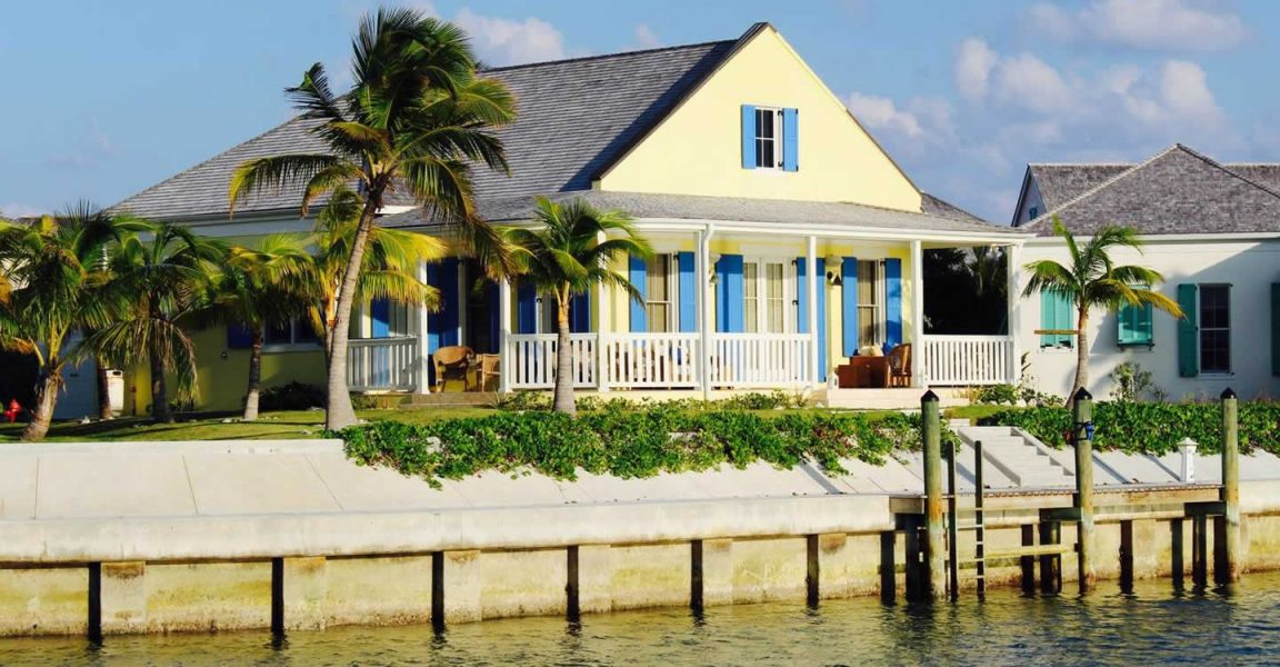 3 bedroom waterfront cottage for sale schooner bay abaco