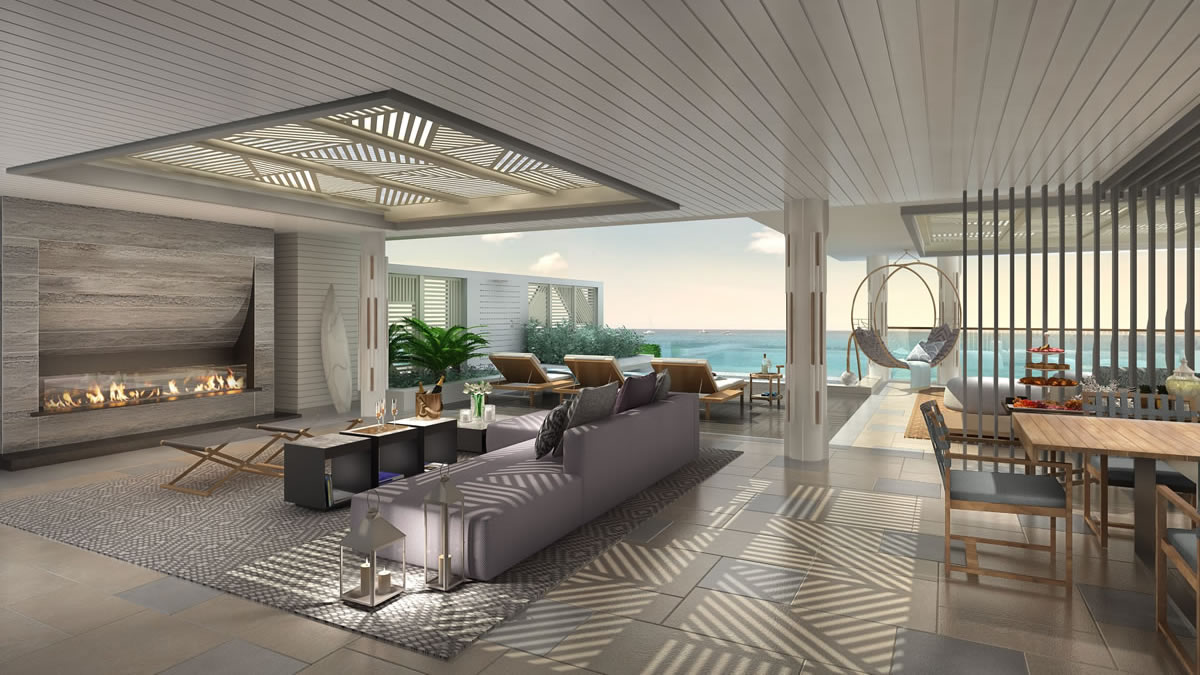 Beachfront condominium residences for sale in Puerto Rico