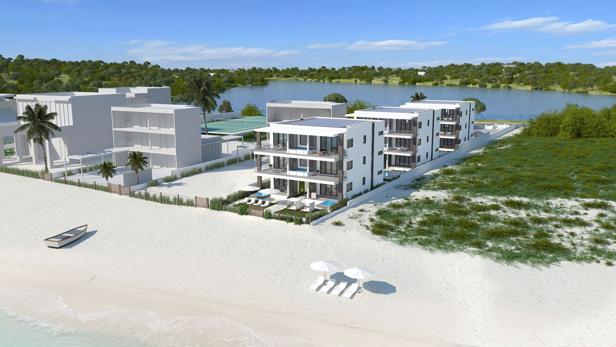 Beachfront condos for sale in Anguilla