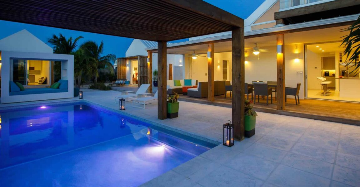 on map 3 bedroom villas for sale leeward providenciales turks caicos