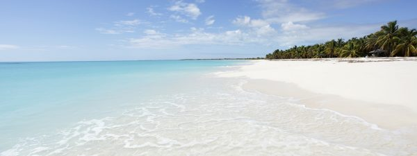 Stunning, quiet beach in Antigua & Barbuda