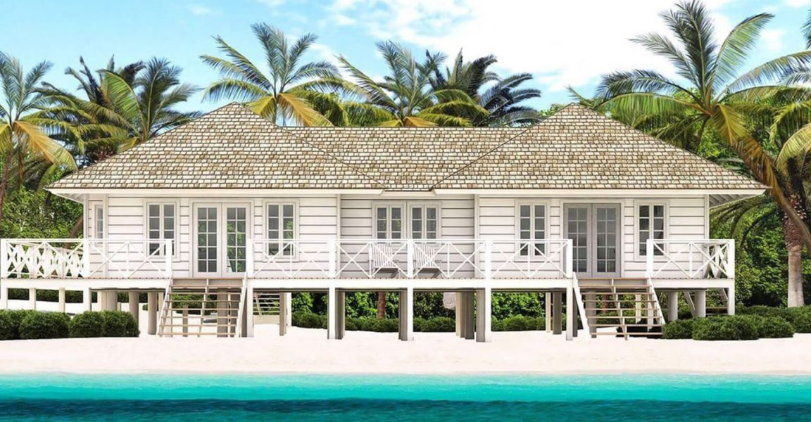1 Bedroom Beach House For Lame Cay Andros Bahamas 7th Heaven Properties