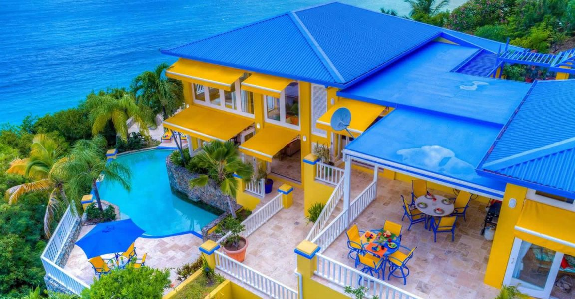 2 Bedroom Luxury Villa For Sale, Long Bay, Tortola, BVI