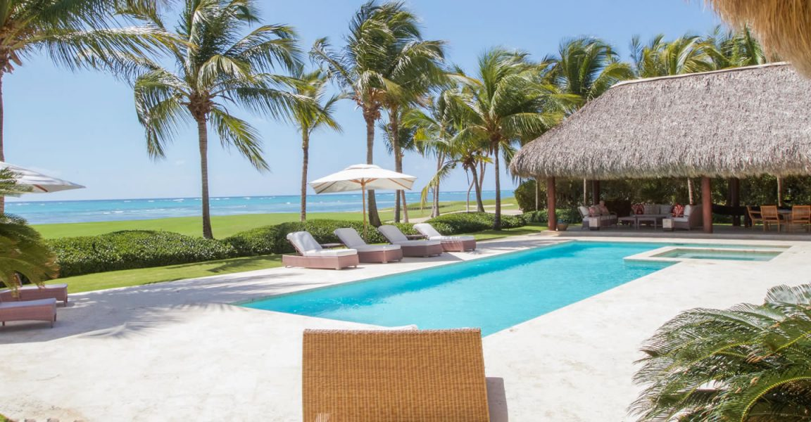 7 bedroom oceanfront home for sale punta cana dominican for Homes for sale dominican republic punta cana