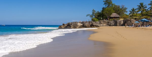 Sosua beach, Puerto Plata, Dominican Republic