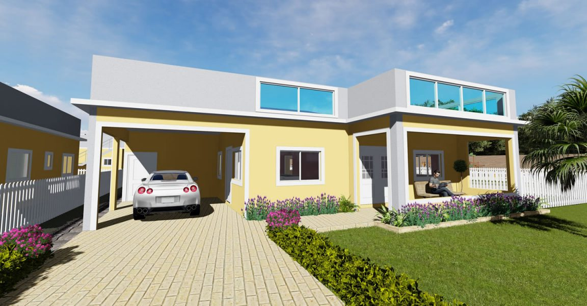 3 bedroom homes for sale st ann 39 s bay jamaica 7th for Cost of building a house in jamaica